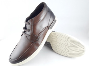 96710c079 Sapato Arrow 41 Couro Tabaco Masculino Democrata - Sapatos no ...