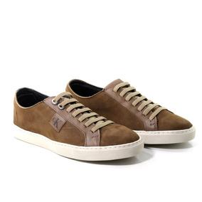 9fea9408a6d Sapatênis +carteira Ck Calvin Klein Tênis Calçado Promoção