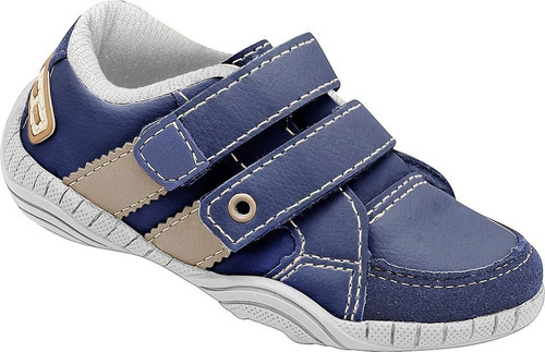 sapatênis dok new confort - azul marinho
