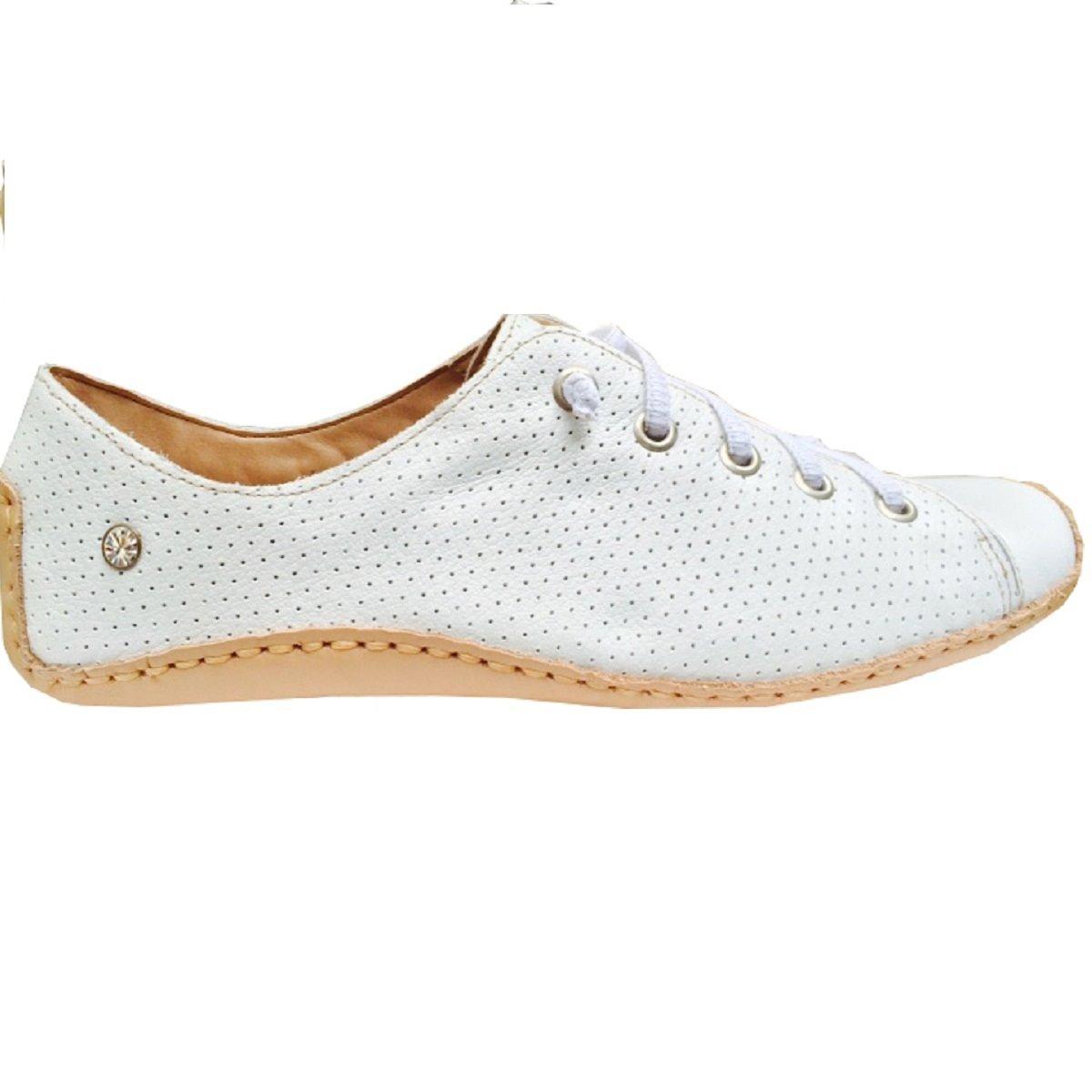 7c8d1f406c sapatênis feminino le bianco em couro legítimo branco - 519. Carregando  zoom.
