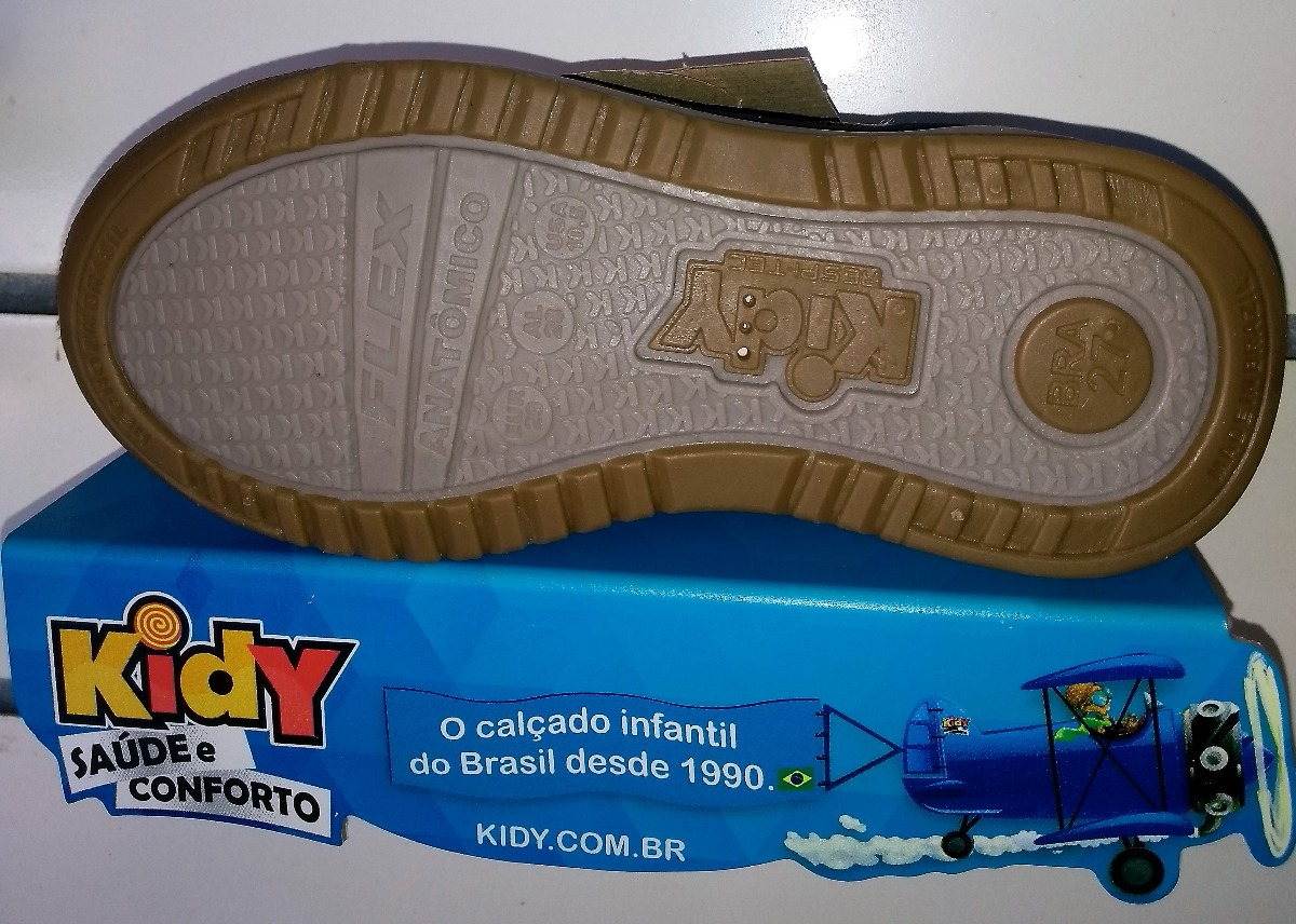 b924fa0c199cd0 Sapatênis Infantil Kidy Flex Marinho Para Menino