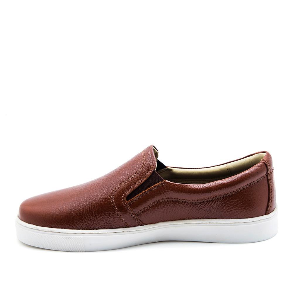 05b9dc73bae sapatênis masculino 4048 em couro floater pinhão doctor shoe. Carregando  zoom.