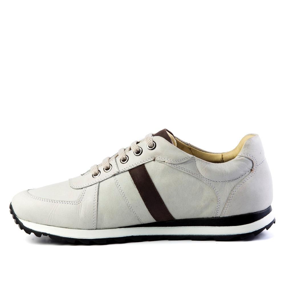 e0e5e00934 sapatênis masculino 4061 em couro neve brown doctor shoes. Carregando zoom.