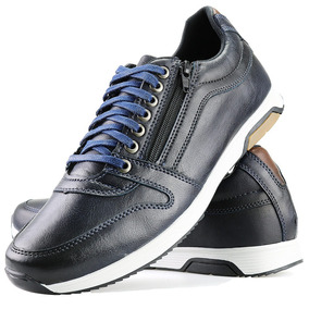 644d60b7db Sapato Social Masculino Casual Dhl Azul - Sapatos no Mercado Livre ...