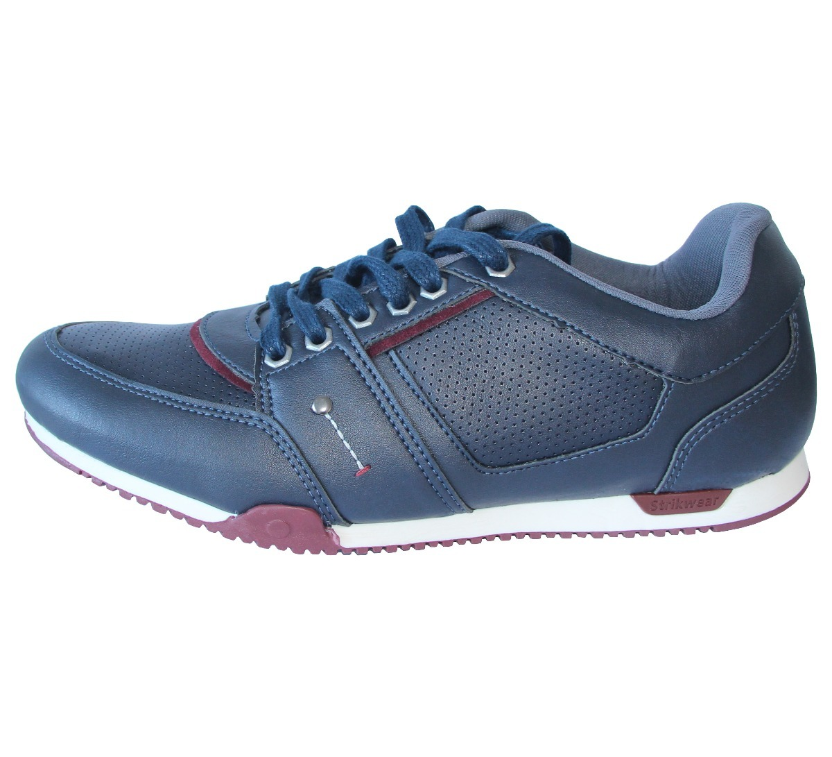94c30cdb81 sapatênis masculino couro sintético azul barato. Carregando zoom.