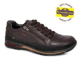 6eaea4bc6b Sapato Pegada Anilina Em Couro Masculino Sapatenis - Sapatos com o ...
