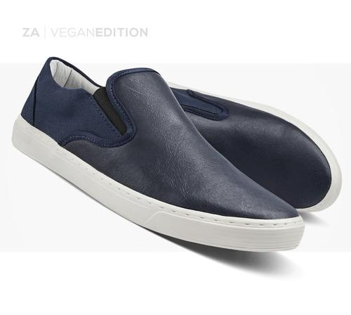 sapatênis masculino tênis slip on sapato sem cadarço zalupe