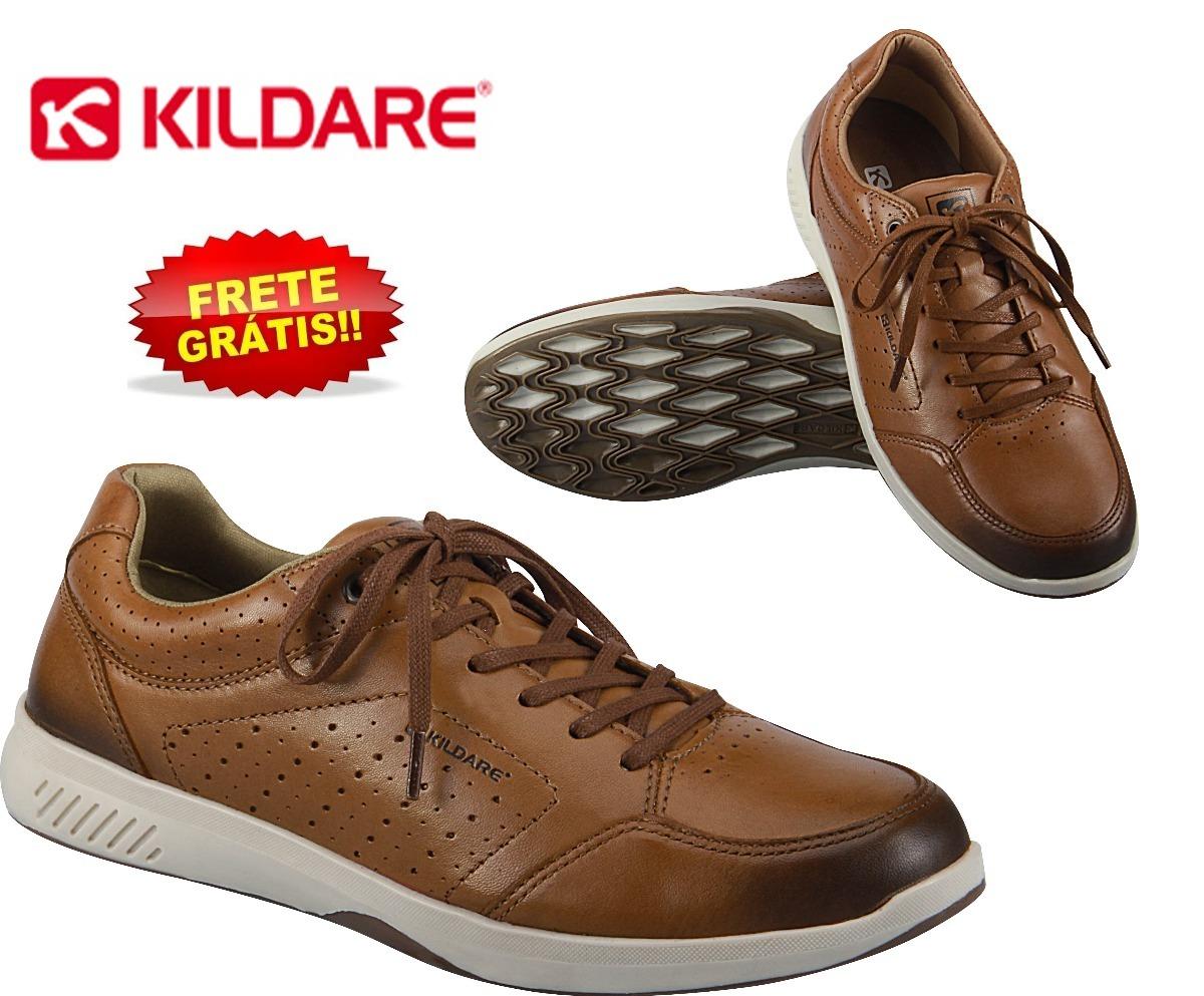 d6f0621875 sapatênis sapato masculino kildare ru4101 couro legítimo. Carregando zoom.