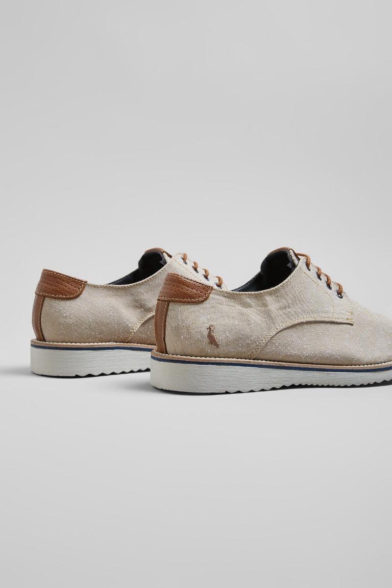 c00741bb9 Sapato 40208 Dado Lona Ecko Areia Reserva - R$ 369,00 em Mercado Livre