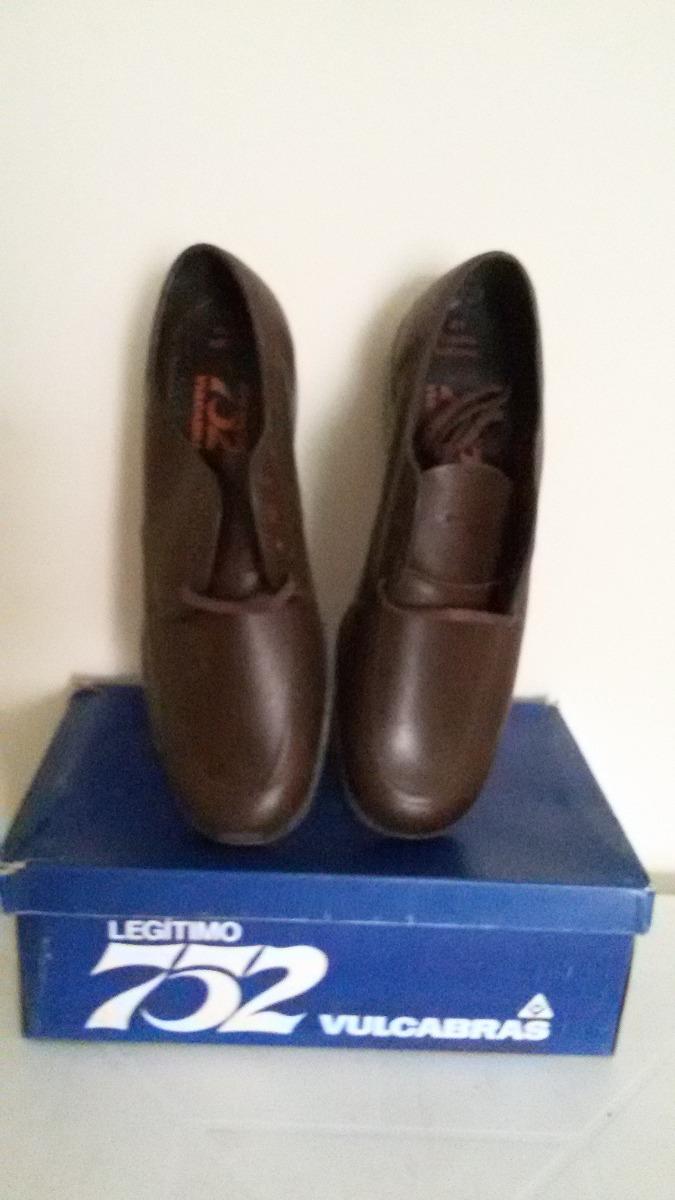 a5404b37e Sapato 752 Da Vulcabrás - Couro Legítimo - R$ 130,00 em Mercado Livre