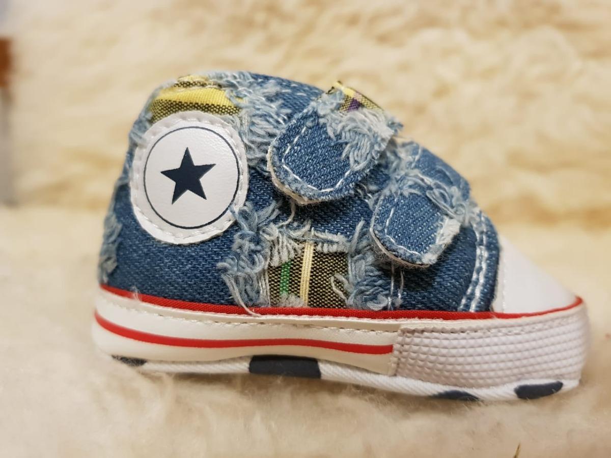 9d03ab3a00e sapato all star de jeans. Carregando zoom.