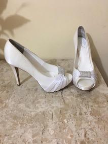 3869ba3a3c Peep Toe Cravejado Com Pedras Feminino - Sapatos no Mercado Livre Brasil