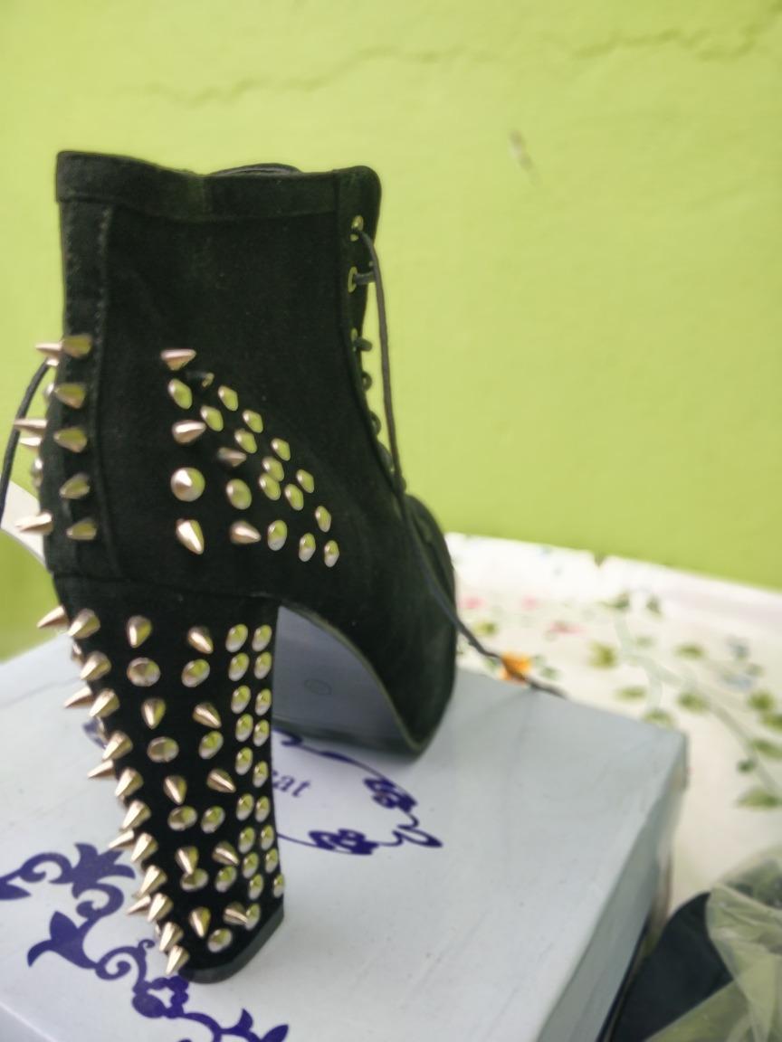 a15c8d26e Sapato Alto Rock In Roll Jojo Cat Super Estiloso - R$ 47,99 em ...