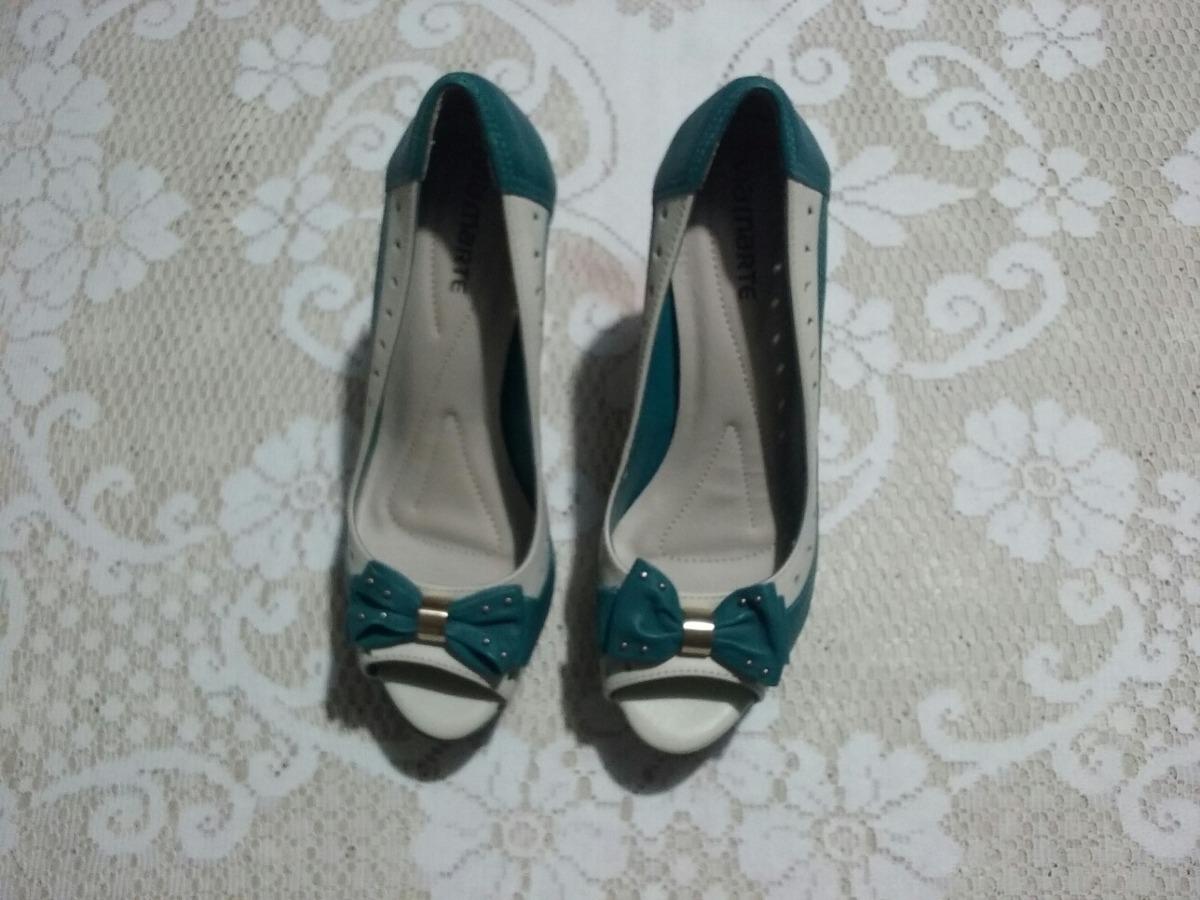 ba62ecc59c sapato alto via marte tamanho 37. Carregando zoom.