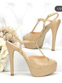 e117cd155 Sapato Renata Mello Feminino Peep Toe - Sapatos com o Melhores Preços no  Mercado Livre Brasil