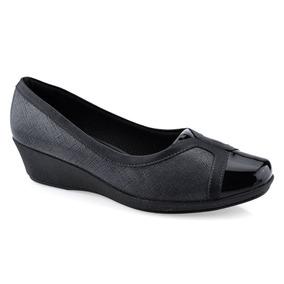 ab2e25063 Sapato Piccadilly Max Confort Anabela - Sapatos no Mercado Livre Brasil