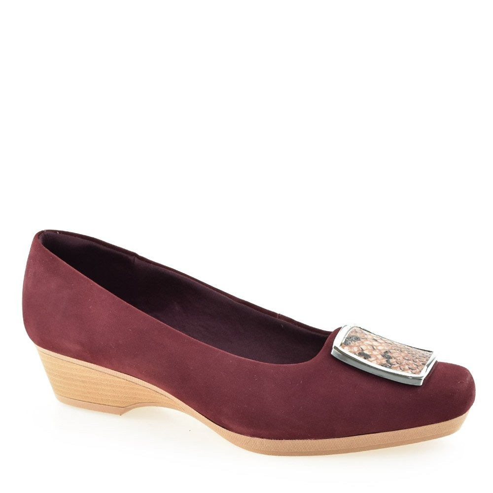 f0c36ebcff sapato anabela feminino conforto usaflex z2307 - cirandinha. Carregando zoom .