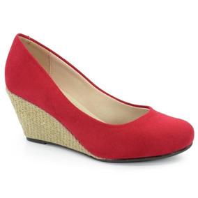57e9a0ebd1 Sapato Boneca Anabela Moleca - Sapatos no Mercado Livre Brasil
