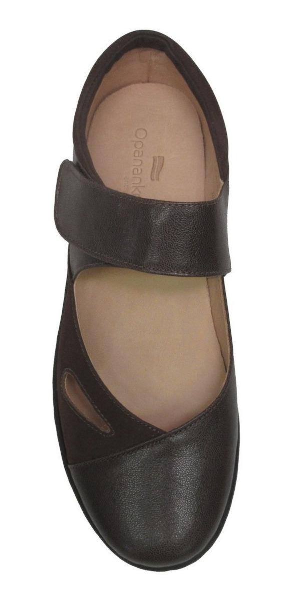 663e418d5 Sapato Anatômico Alexxa Opananken 63807 100% Couro - R$ 357,50 em ...