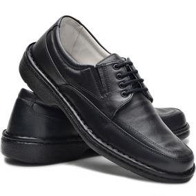6a1a47716 Sapato Anti Stress Masculino Cadarço Couro - Sapatos com o Melhores Preços  no Mercado Livre Brasil