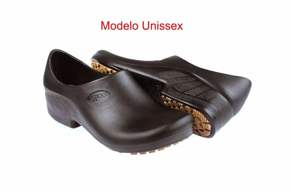 04d0ac8f0 Sapato Antiderrapante Para Cozinha/ Hospital Sticky Shoe - R$ 58,40 ...