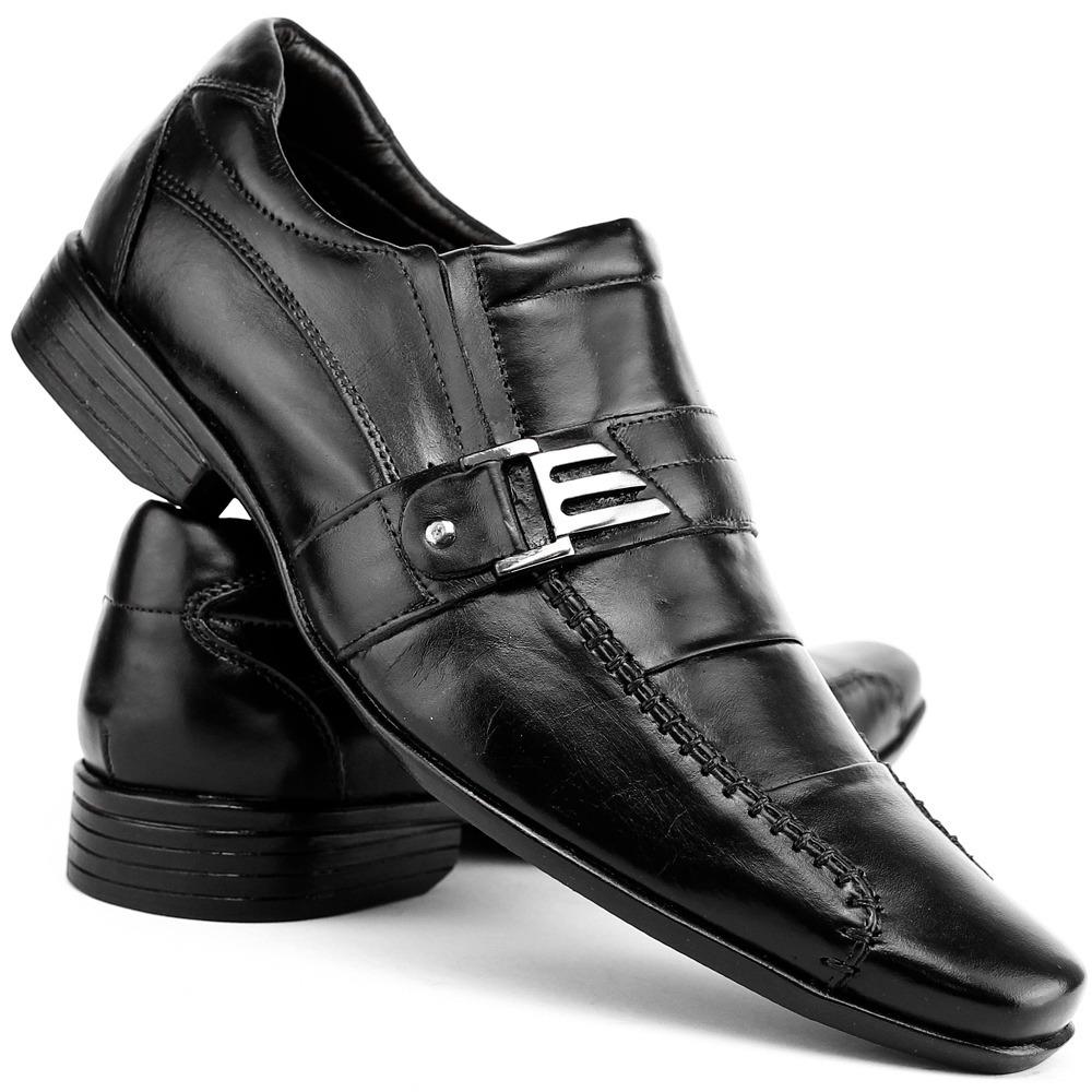 7da8d5e66b sapato barato p/ trabalho social masculino couro macio confo. Carregando  zoom.