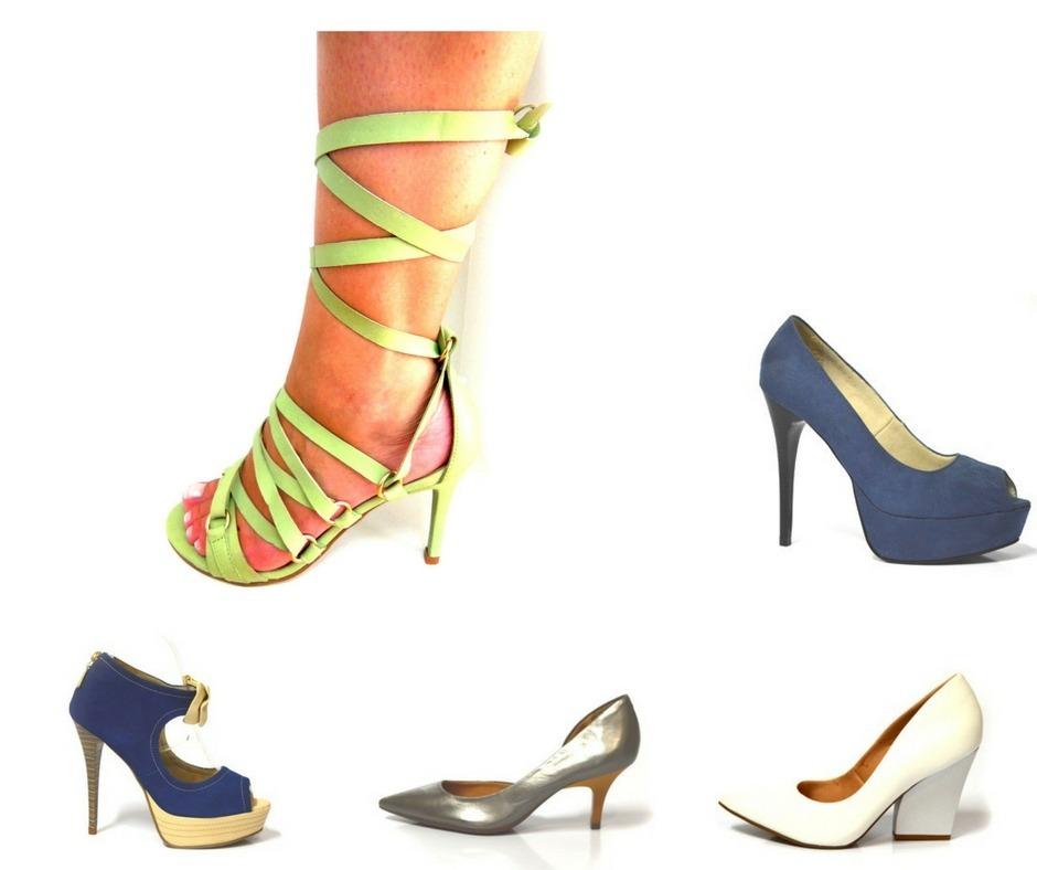 d6163b4452 sapato barato revenda kit 5 pares feminino modelos variados. Carregando  zoom.