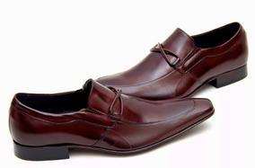 9f26593665 Sapato Social De Couro Viccini Classic 40 Masculino - Calçados ...