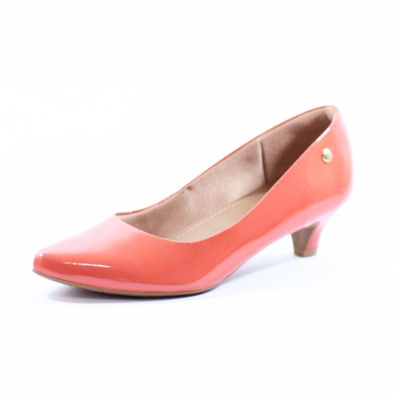 1dd4dcb29f sapato bico fino verniz scarpin usaflex salto médio 0401. Carregando zoom.