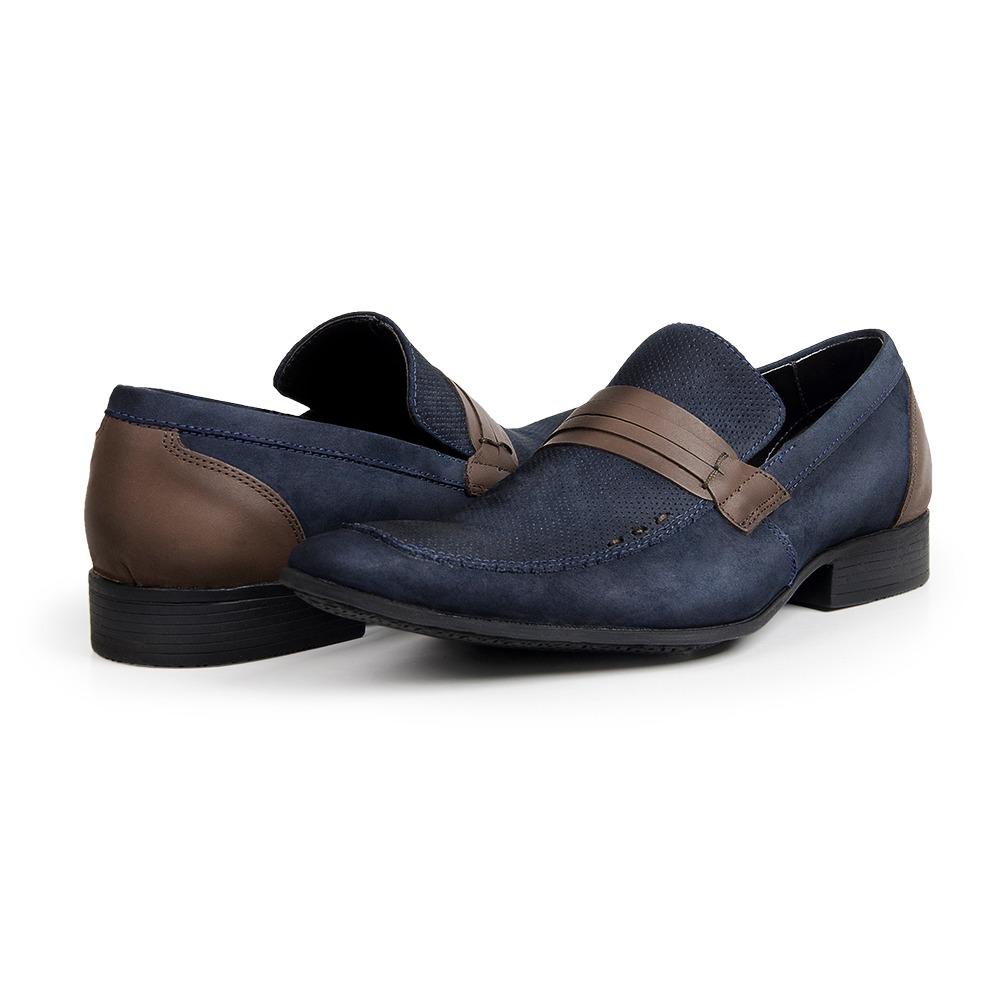 86f7e876e sapato bigioni mocassim masculino esporte fino couro nobuck. Carregando  zoom.
