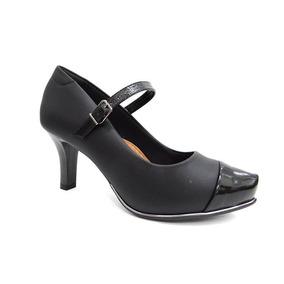 8cc241654 Sapato Boneca Preto Comfortflex - Sapatos com o Melhores Preços no Mercado  Livre Brasil