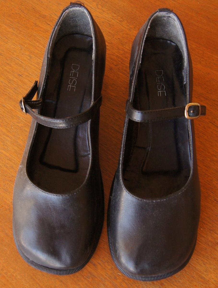 cd702022b6 Sapato Boneca Couro Preto Deise Gótica Lolita - R$ 160,00 em Mercado ...