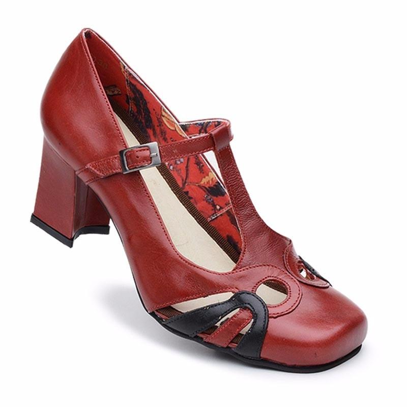 0d918a9381 sapato boneca estilo retro (forma grande) lm5943. Carregando zoom.