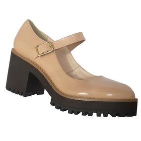 a6ef189420 Sapato Tipo Boneca Retro - Sapatos no Mercado Livre Brasil