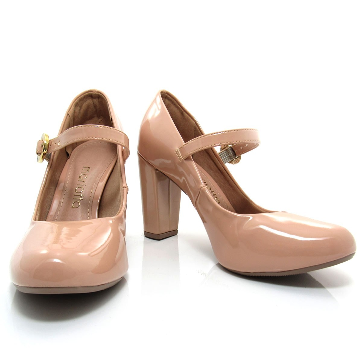 bcd7a4279 sapato boneca feminino mariotta bico redondo 17010-02 verniz. Carregando  zoom.