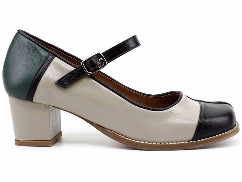 003b7cb7c sapato boneca retro couro legítimo rima 2152 loja pixolé. Carregando zoom.