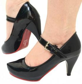 d15db1c493 Salto Fechado Boneca - Sapatos para Feminino no Mercado Livre Brasil