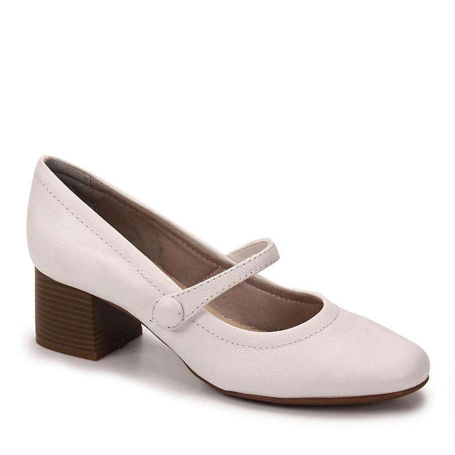 2980eda6b4 sapato boneca salto feminino bottero - branco. Carregando zoom.