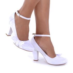 14e995beb4 Sapatos De Noiva Salto 8 Grosso - Sapatos no Mercado Livre Brasil
