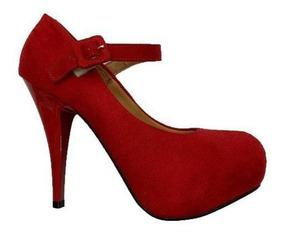 62c0727532e2f Sapato Scarpin Vizzano Vermelho Feminino - Sapatos com o Melhores ...