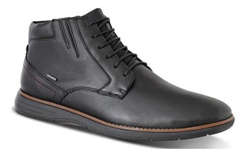 sapato bota masculino ferracini couro trindade 6123-559i