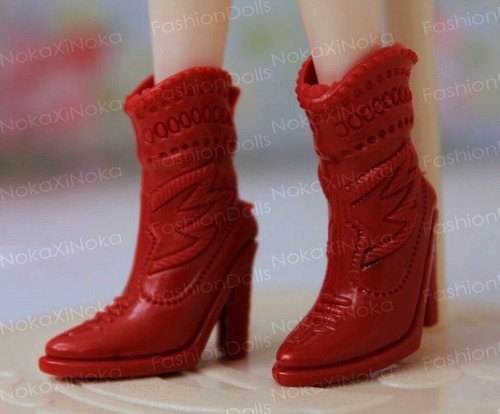 sapato bota para boneca blythe * pullip * licca * sapatinho