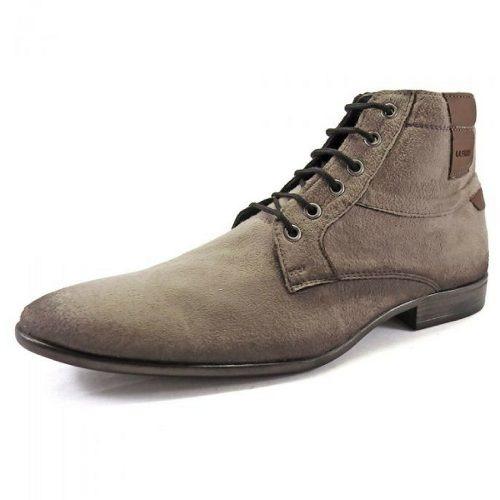 9b85f10ff Sapato Botina Casual Social Masculino La Faire Ac100 Cinza - R$ 62 ...