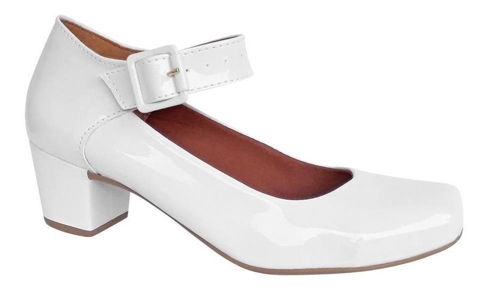 c357dfbcb sapato branco boneca noiva noivado casamento salto médio. Carregando zoom.