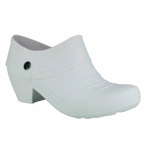 5e984c5a1 Sapato Branco Enfermagem Feminino Boa Onda Conforto Arizona - R$ 74 ...