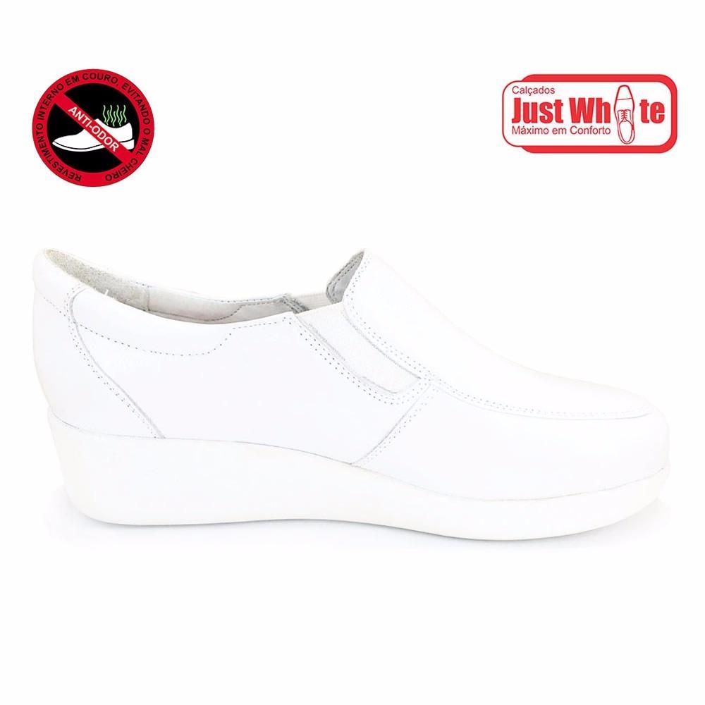 cb9f630f8e Sapato branco feminino dentista médico enfermeira atacado carregando zoom  jpg 1000x1000 Feminino médicos sapato branco