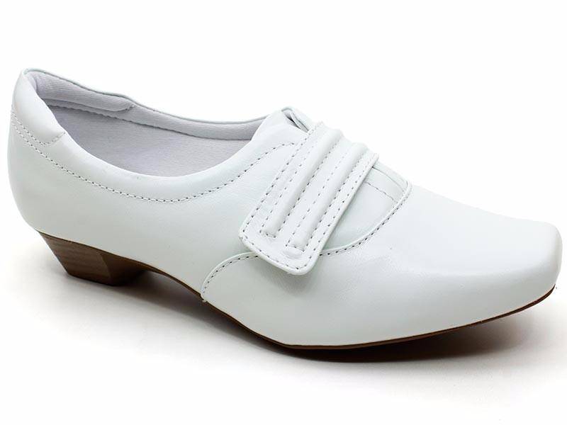 dcb0e7b0a8 sapato branco feminino enfermagem couro neftali 3825 pixolé. Carregando  zoom.