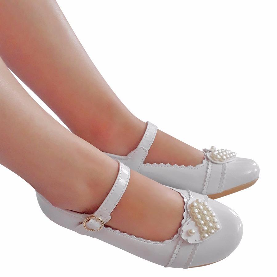 369ad4708 sapato branco menina noivinha daminha batizado casamento. Carregando zoom.