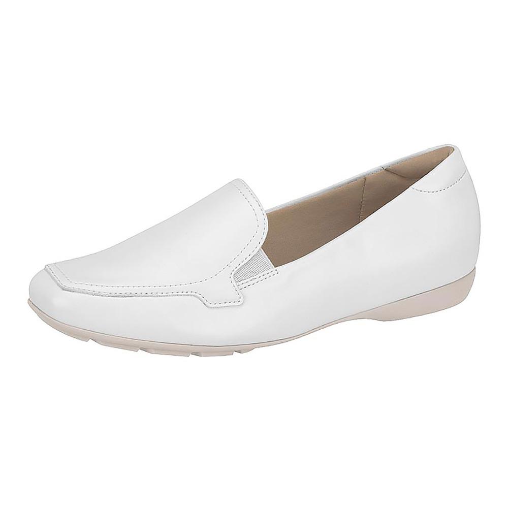 e4776d58e sapato branco mocassim feminino fechado modare conforto. Carregando zoom.