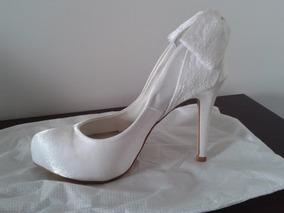 9b842ae6d Sapato De Noiva Durval Calcados Feminino Usado no Mercado Livre Brasil